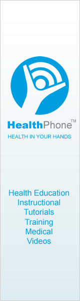 HealthPhone: Health, Education, Instructional, Tutorials, Training, Medical videos