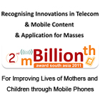 HealthPhone™ Wins mBillionth Award - Most Promising