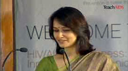 Actress and Social Activist, Amala Akkineni, speaks on TeachAIDS
