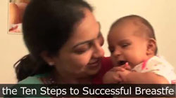 Step 4 - Ten Steps to Successful Breastfeeding