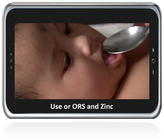 Use of ORS and Zinc